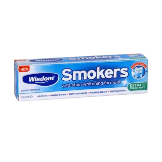 Зубная паста Wisdom Smokers Extra Fresh Mint