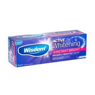 Зубная паста Wisdom Active Whitening Instant Bright