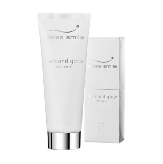 Зубная паста Swiss Smile Diamond Glow Brightening, отбеливающая
