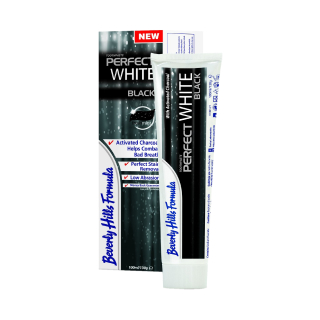 Зубная паста Beverly Hills Formula Perfect White Black