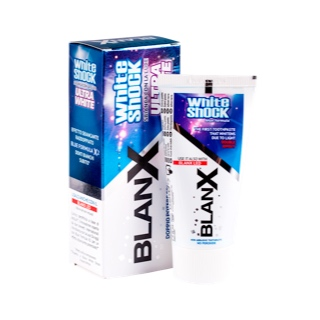Зубная паста BlanX White Shock Ultra White