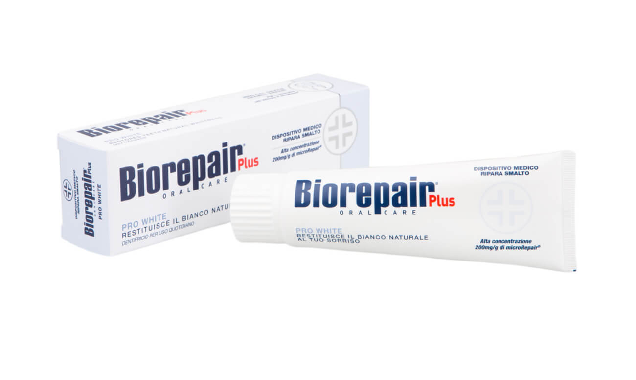 Зубная паста Biorepair Pro White PLUS