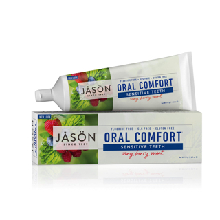 Гелевая зубная паста Jason Oral Comfort Sensitive Teeth Very Berry Mint