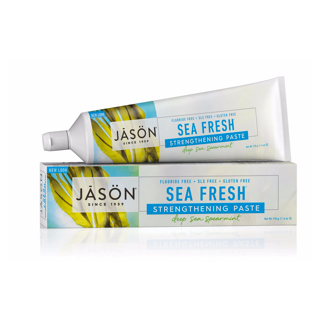 Зубная паста Jason Sea Fresh Strengthening Paste Deep Sea Spearmint
